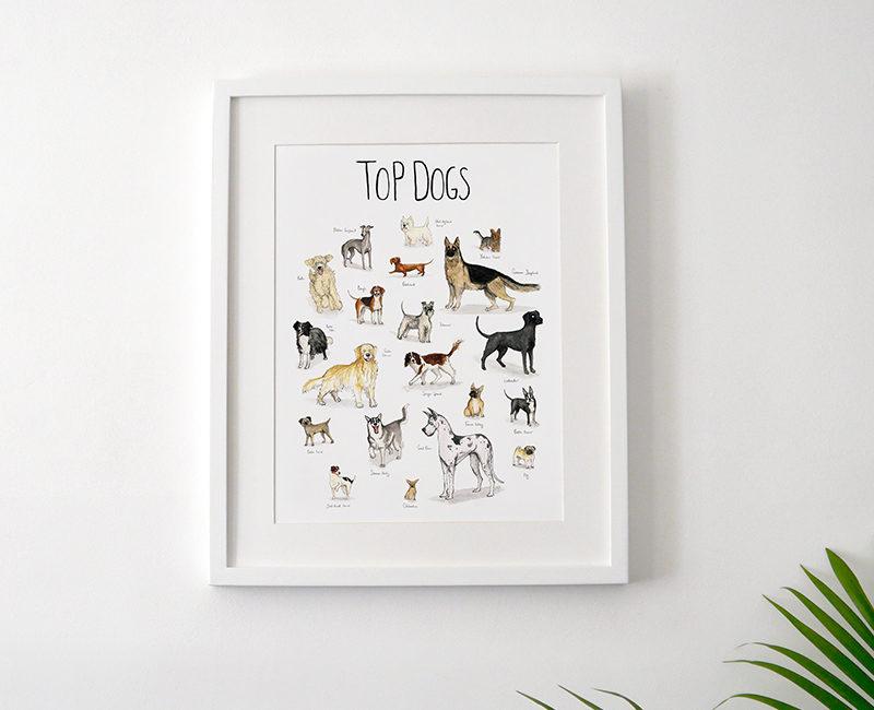 top-dogs-framed
